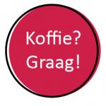 koffie graag - roze